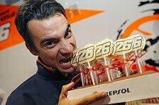 Trainingsticker zum Spanien GP der MotoGP in Jerez