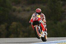 Marquez über Jerez GP: Auf Sieg fahren wäre zu gefährlich