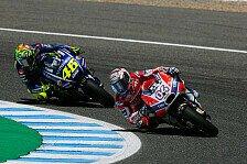 Valentino Rossi zollt Dovizioso Respekt vor dem MotoGP-Finale
