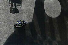 Valentino Rossis Setup-Poker endet in Jerez-Desaster