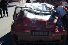 WRC - Video: Erster Meeke-Unfall in Argentinien: Du Bastard!