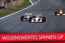 Formel 1 - Video: Wissenswertes über den Spanien GP in Barcelona