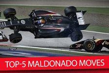 Formel 1 - Video: Zum Sieg-Jubiläum: Die Top-5 Maldonado Moves
