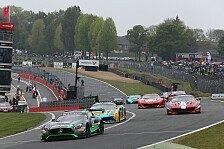 Blancpain GT Series - Brands Hatch: Rennpech für Dominik Baumann