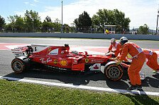 1. Training in Spanien: Dreher! Defekte! Alonso & Vettel mit Problemen