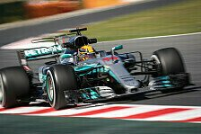 Rutschpartie im 2. Barcelona-Training: Mercedes in Spanien vor Ferrari