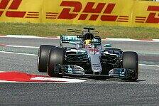 Formel 1: Lewis Hamilton gewinnt den DHL Fastest Lap Award 2017
