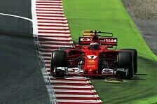 Ferrari-Pilot Kimi Räikkönen in Spanien: Muss Fehler im Qualifying ausmerzen
