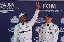 Hamilton auf Senna-Kurs - kaum Hoffnung für Bottas