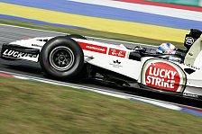 Formel 1 - Anthony Davidsons Test-Frust