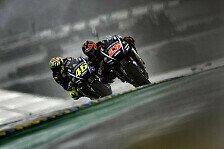 Showdown: Vinales siegt, Rossi mit Last-Lap-Sturz