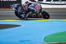 Vinales holt die Pole in Le Mans, Rossi und Zarco in Reihe 1
