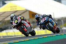 Der Check der deutschen Piloten beim Frankreich GP der MotoGP 2017