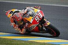 Marc Marquez im Warm-Up von Le Mans Schnellster