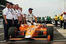 IndyCar statt Formel 1? Alonso hat trotz Unfällen keine Angst