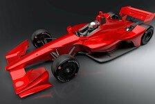IndyCar zeigt neues Aerokit für 2018
