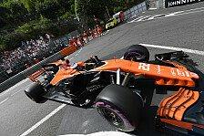 Motor-Strafe für Button in Monaco