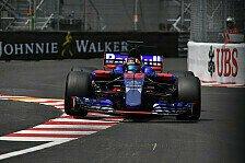 Formel 1, Monaco: Toro Rosso überrascht am Donnerstag