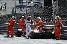 Die Crash-Piloten am Samstag in Monaco: Vandoorne macht den Verstappen