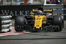 Formel 1, Monaco: Platz zwölf für Nico Hülkenberg das Maximum