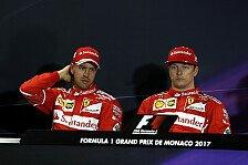 Stinkiger Vettel zur Monaco-Pleite vs. Ferrari-Kollege Räikkönen: War zu gierig!
