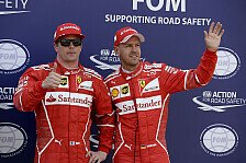 Vertrag: Räikkönen wünscht sich Vettel 2018 bei Ferrari