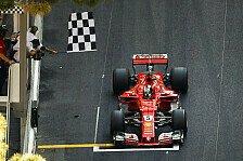Ferrari-Doppelsieg in Monaco: Sebastian Vettel siegt vor Kimi Räikkönen