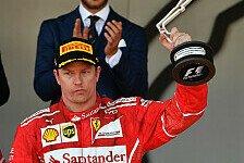 Formel 1: Räikkönen über Monaco-Ärger: Nie sauer auf Ferrari