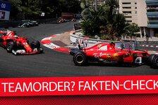Monaco-Analyse: Teamorder? So kam Vettel vor Kimi