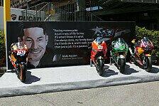 So verabschiedet die MotoGP Hayden in Mugello