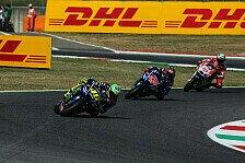 Yamaha-Star Valentino Rossi in Mugello von körperlichen Problemen ausgebremst