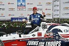 Graham Rahal gewinnt Rennen 1 in Detroit