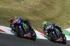 Neue Chassis spaltet Meinung von Rossi und Vinales nach MotoGP-Test Barcelona