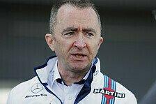 Formel 1, Williams sägt Paddy Lowe ab: Technik-Chef beurlaubt