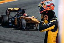 Renault über Robert Kubica: Er hat die Pace für einn Formel-1-Comeback