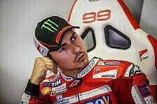 MotoGP - Jorge Lorenzo spricht erstmals über Ducati-Gerüchte