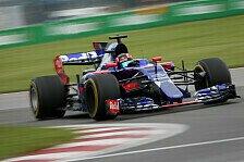 Formel 1: Daniil Kvyat nennt Rennleitung nach Strafe 'dummen, verfickten Zirkus'