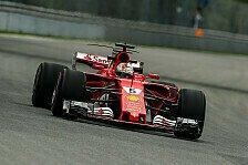 Zu langsam: Vettel beschwert sich über Hamilton