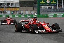 Revanche für Montreal-Niederlage gegen Mercedes: Ferrari in Baku der Favorit