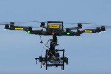 Formel E - Video: Berlin ePrix: Eine Runde mit dem DHL CamCopter