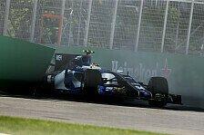 Formel 1 - Bilder: Kanada GP - Wehrlein crasht im Qualifying