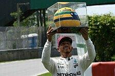 Formel 1 - Bilder: Kanada GP - Hamilton zelebriert 65. Pole mit Senna-Helm