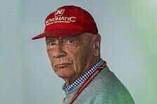 Niki Lauda wieder in Klinik: Sorge um Ex-Weltmeister