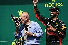 Formel 1 - Social-Media-Highlights aus Kanada: Shoey-Comeback