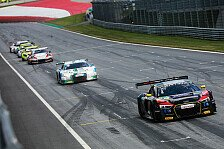 ADAC GT Masters - Red Bull Ring: Niederhauser verpasst Punkte knapp