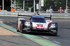 Defekter Antrieb: Erster Rückschlag für Porsche