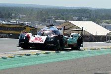 Drama: Porsche rollt in Führung liegend aus