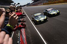 24 h von Le Mans - Video: 24h Le Mans 2017: Aston Martin bejubelt GT-Sieg