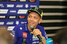 Yamahas MotoGP-Star Valentino Rossi spricht über seine Genesung