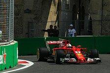 Baku: Sebastian Vettel hofft auf heißen Sechskampf mit Happy End für Ferrari